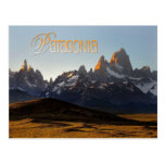 Cerro Torre et Monte Fitz Roy, Patagonia Cartes Postales