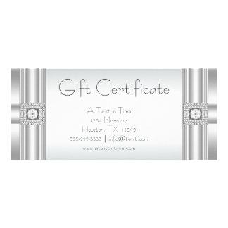 Certificat-primes d'affaires de certificat-primes motif pour double carte