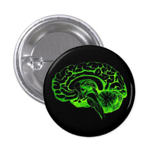 Cerveau de zombi pin's