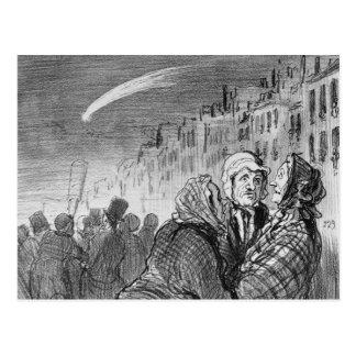 Ces comètes ils prévoient toujours grand carte postale