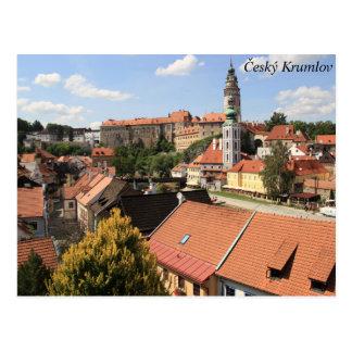 Český Krumlov, République Tchèque Carte Postale
