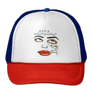 Cessez le blanchissement casquettes de camionneur