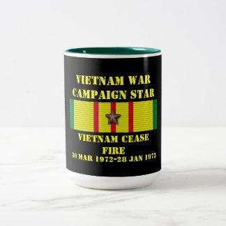 Cessez-le-feu/campagne du Vietnam Tasse