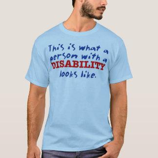 C'est à quelle personne avec une incapacité t-shirt