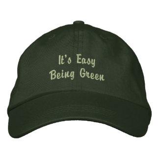 C'est casquette brodé facile
