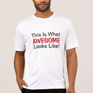 C'est ce qui des ressembler impressionnants au t-shirt