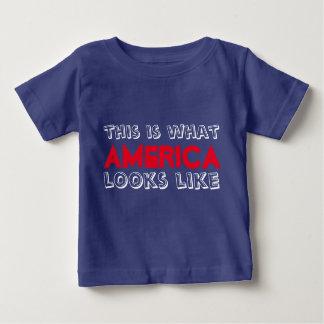 C'est ce qui ressemble l'Amérique à la pièce en t T-shirt Pour Bébé