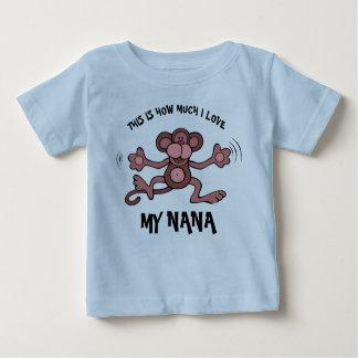 C'est combien j'aime ma Nana T-shirt Pour Bébé