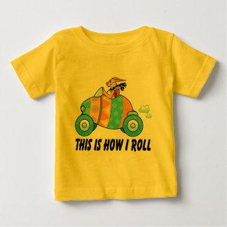 C'est comment je roule le lapin de Pâques T-shirt Pour Bébé