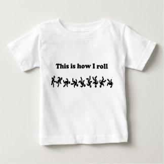 C'est comment je roule t-shirt pour bébé