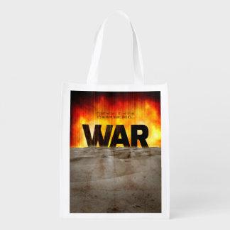 C'est guerre sacs d'épicerie