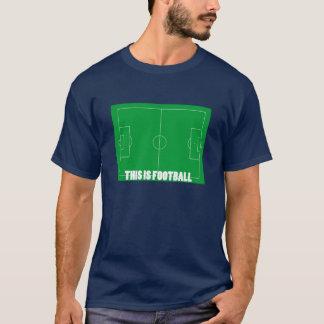 C'est le football (le football) t-shirt