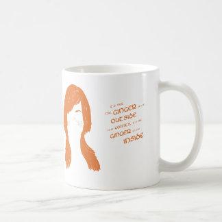 C'est le gingembre sur l'intérieur qui compte ! mug