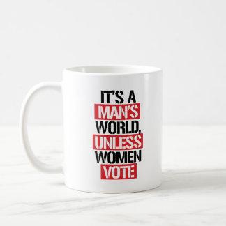 C'est le monde d'un homme à moins que les femmes mug