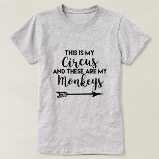 C'est le T-shirt de mes femmes de cirque