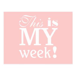 C'est ma carte postale de motivation de semaine