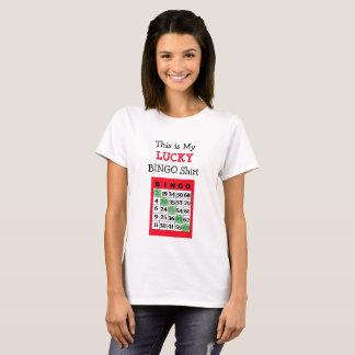 C'est ma chemise chanceuse de BINGO-TEST T-shirt