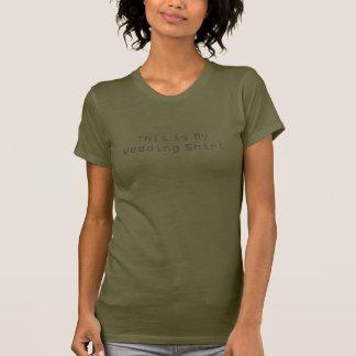 C'est ma chemise de mariage t-shirts