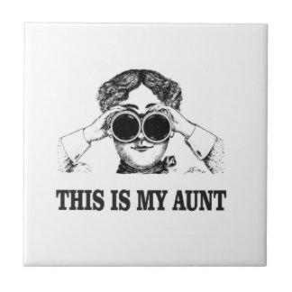 c'est ma tante ouais petit carreau carré