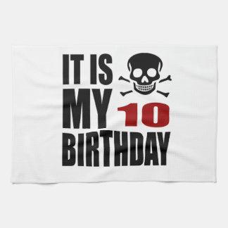 C'est mes 10 conceptions d'anniversaire linge de cuisine