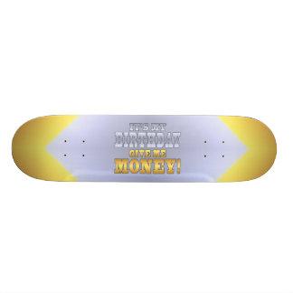 C'est mon anniversaire me donnent l'argent ! Plais Skateboard 19,7 Cm