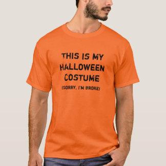 C'est mon T-shirt de costume de Halloween, (je