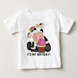 C'est mon T-shirt de vache à anniversaire