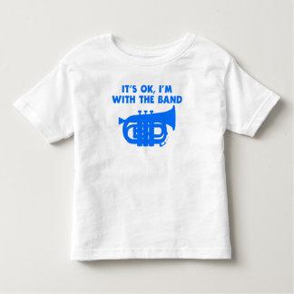 C'est OK que je suis avec le tuba de bande T-shirt Pour Les Tous Petits