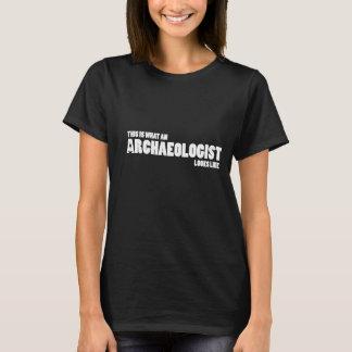 """""""C'est quel archéologue ressemble"""" à la pièce en t T-shirt"""