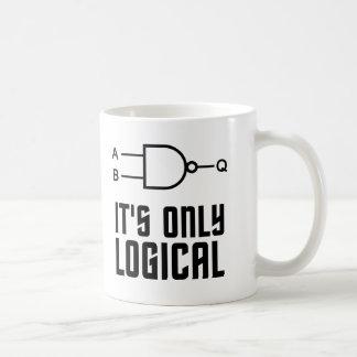 C'est seulement logique mug