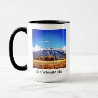 """""""C'est tasse de café d'une chose de Gardnerville"""""""