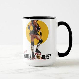 C'est tasse de Derby de rouleau