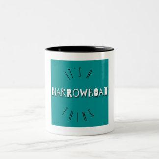"""""""C'est tasse d'une chose de Narrowboat"""""""