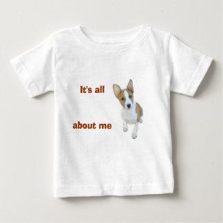 C'est tout au sujet de moi pièce en t infantile t-shirt pour bébé
