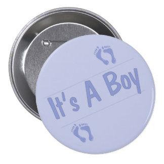 C'est un bouton de garçon pin's avec agrafe