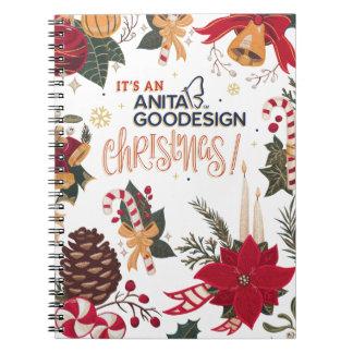 C'est un carnet de Noël d'Anita Goodesign !
