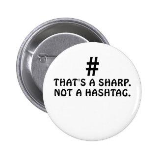 C'est un dièse pas un Hashtag Badges