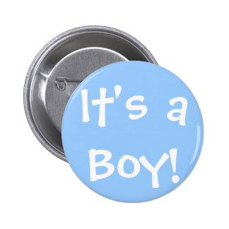 C'est un garçon ! badge
