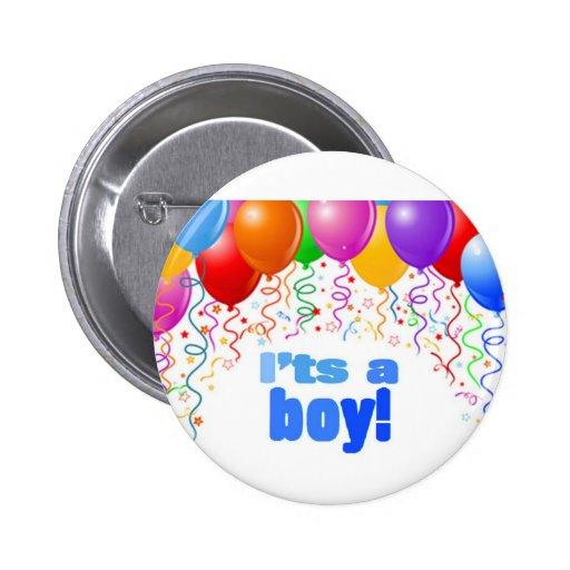 C'est un garçon ! badges