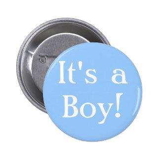 C'est un garçon ! badge rond 5 cm