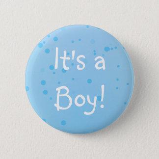 C'est un garçon ! Inkspots bleu chic Pin's