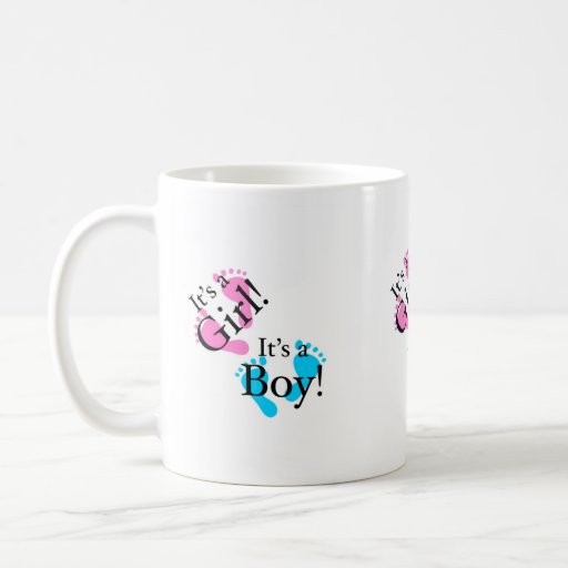 C'est un garçon que c'est une fille - bébé nouveau tasse à café