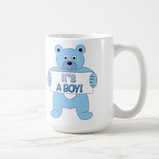 C'est un ours bleu de garçon mug
