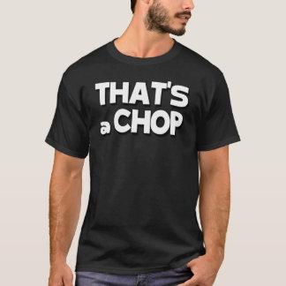 C'est un T-shirt de côtelette