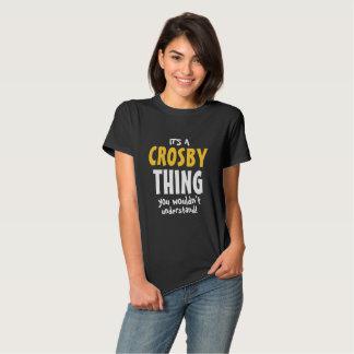 C'est une chose de Crosby T-shirts