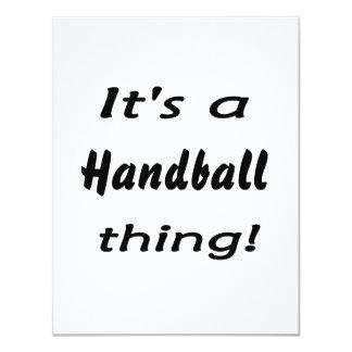 C'est une chose de handball ! invitations personnalisables