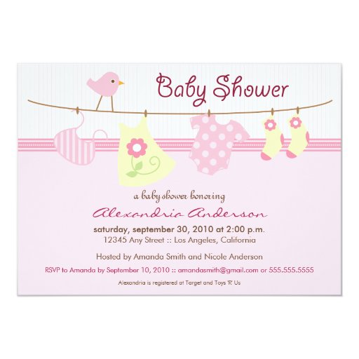 Tutu Invitations For Baby Shower as amazing invitation example