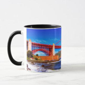 C'est une image de HDR de 3 tirs du Golden Gate Mug