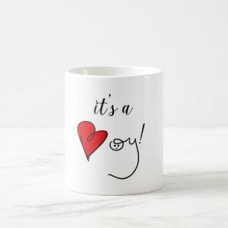 C'est une tasse de garçon