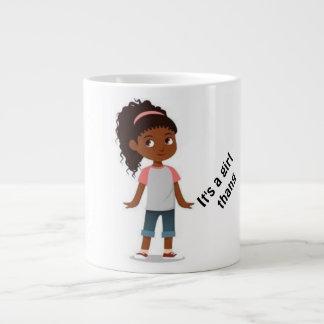 C'est une tasse de thang de fille